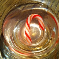 Disappearing Candy Cane science experiment