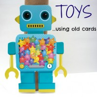 D.I.Y Toys using old cards