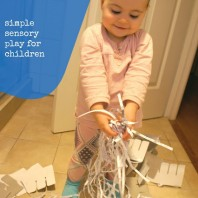 Shredded Paper for Sensory Play