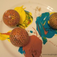 Painting with Golf Balls
