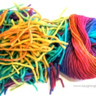 Fun Activity for Kids using Wool