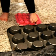DIY Sensory Activity with easy home set up