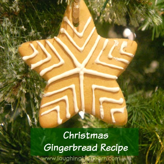 Christmas Gingerbread Recipe you can make with kids. It's egg free too.