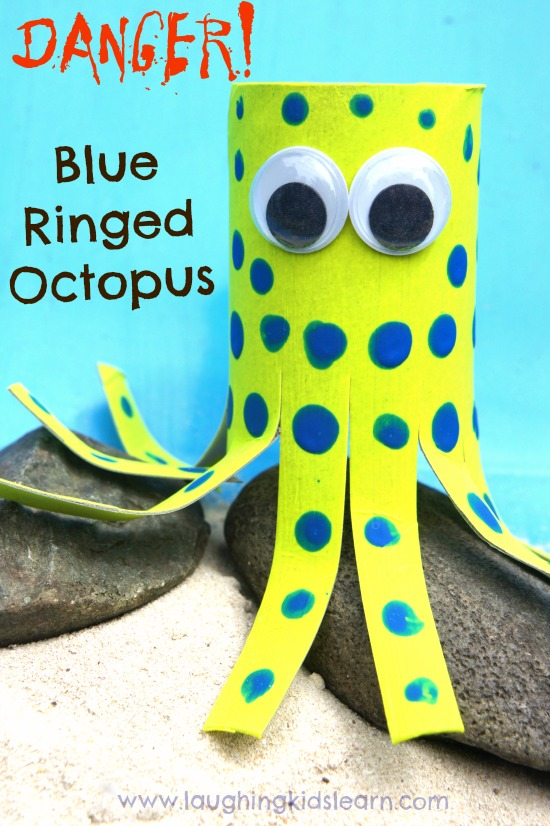 Blue Ringed Octopus Craft For Kids on Animal Activities For Preschoolers