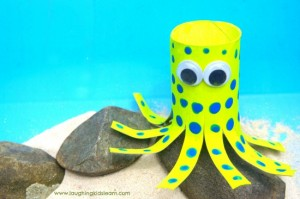 Blue-Ringed Octopus craft for kids