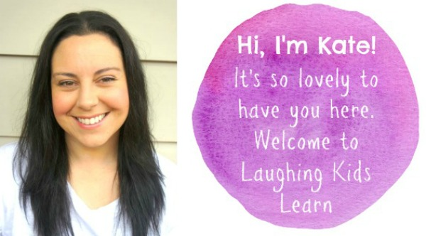 Welcome Message from Kate at Laughing Kids Learn