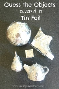Guess the objects covered in tin foil