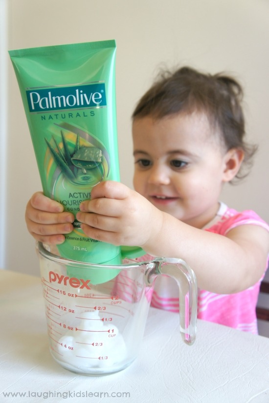 Simple 2 ingredient play dough for kids