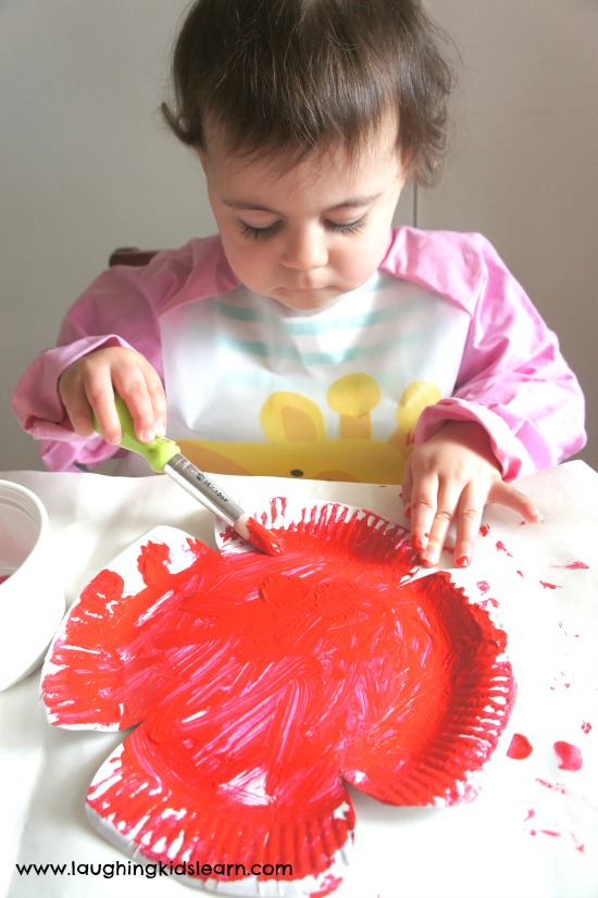 Paper plate anzac day craft for kids