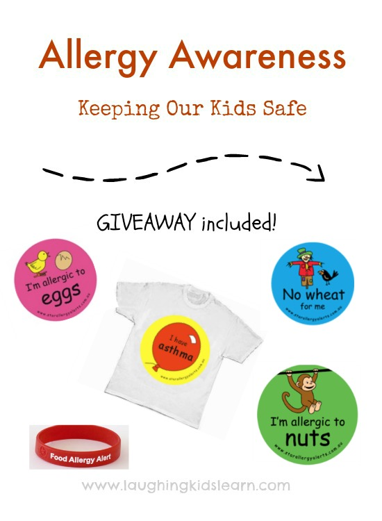 Allergy Awareness Giveaway for kids