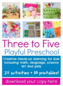 Three to Five Playful Preschool ad