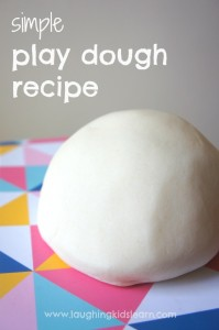 simple play dough recipe for kids