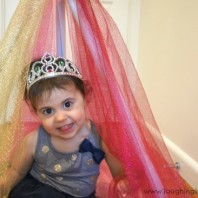 Fairy princess no sew castle for kids