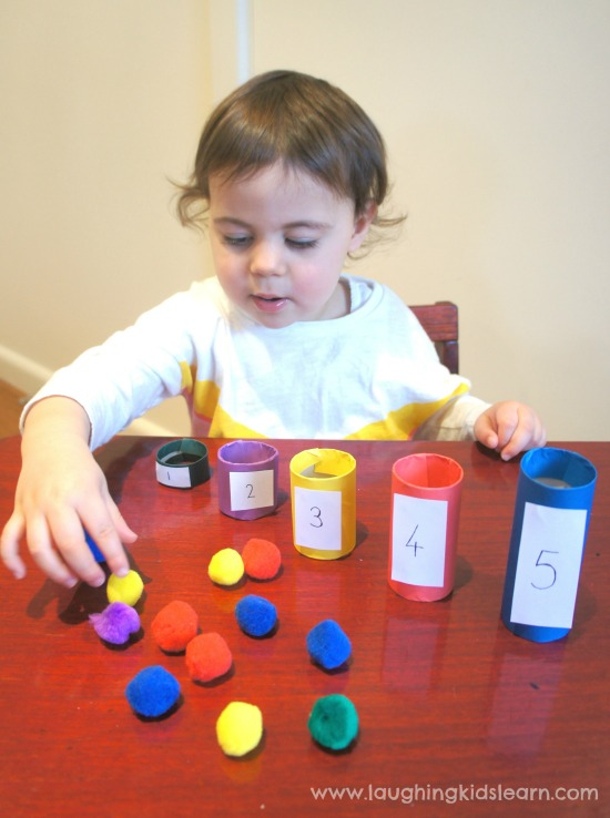 Colour matching game for kids