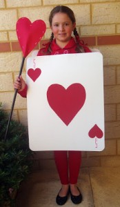 Queen of Hearts costume book week