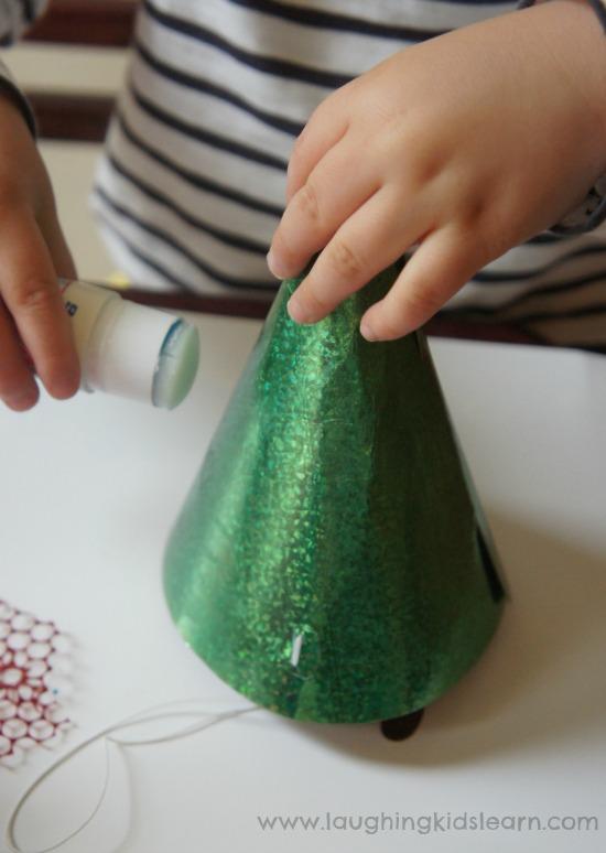 using glue stick