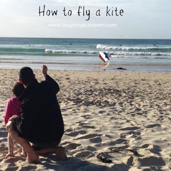 how to fly a kite tutorial for a windy day