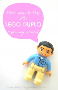 More ways to play with LEGO DUPLO