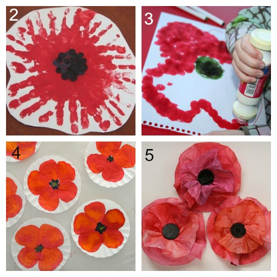 11 simple poppy crafts for kids laughing kids learn making poppies for remembrance day mightylinksfo
