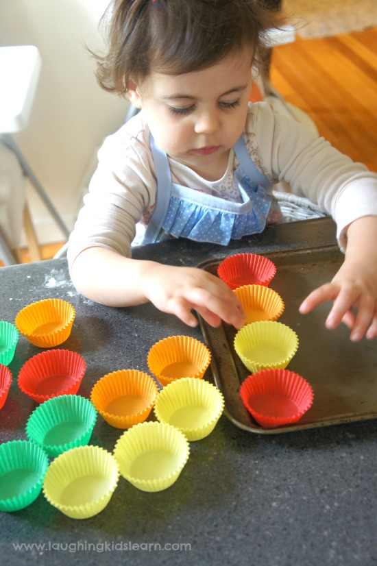 Counting and cooking with kids