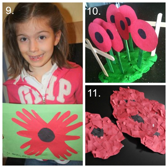 paper poppy collection