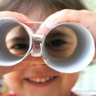 DIY Eye Spy Binoculars