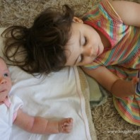 How to play with a newborn baby