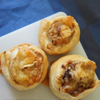 Vegemite and cheese scrolls