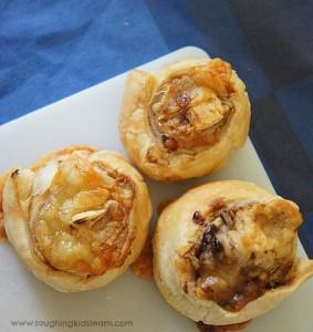 Vegemite and cheese scrolls