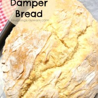 How to make Damper Bread
