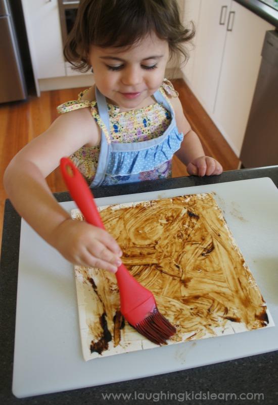 Adding vegemite
