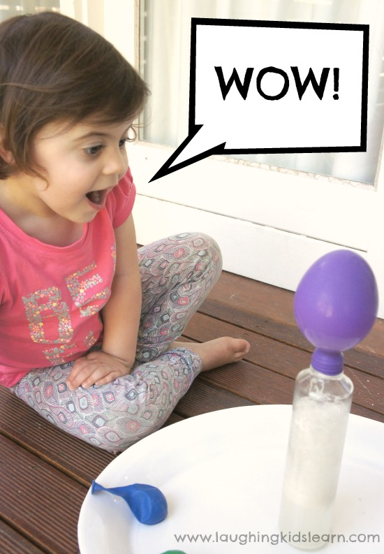 Science of blowing up a balloon