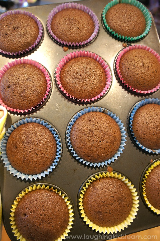 Dairy and egg free cupcakes