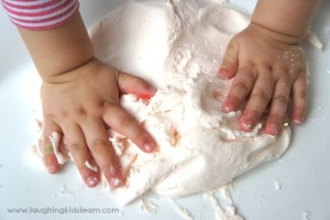 Fairy playdough recipe