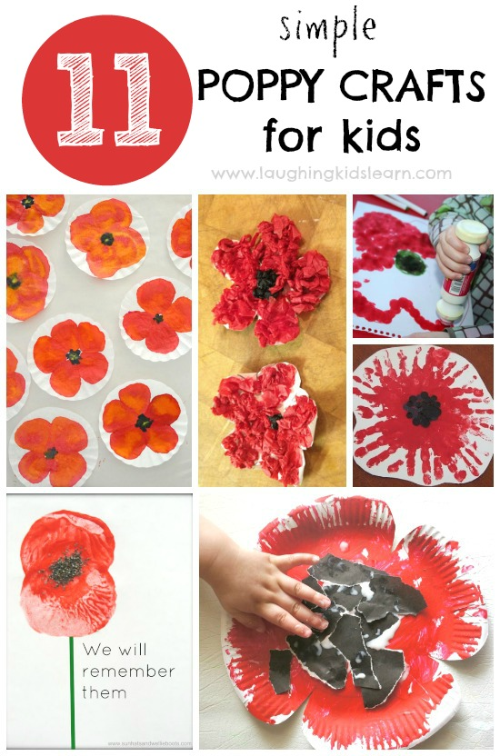Poppy Crafts For Kids To Make Remembrance Day
