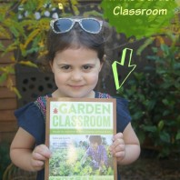 Giveaway of the garden classroom