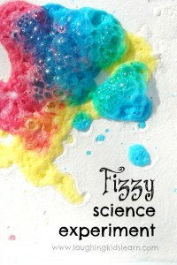 Easy science experiment for kids that will teach them about colours and chemical reactions