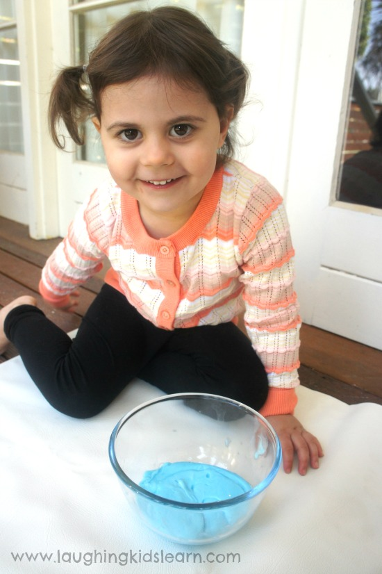 Playing with flubber