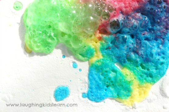 Science fizzy explosion experiment kids will love