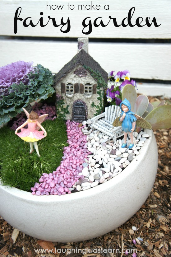 How to make a fairy garden Laughing Kids Learn