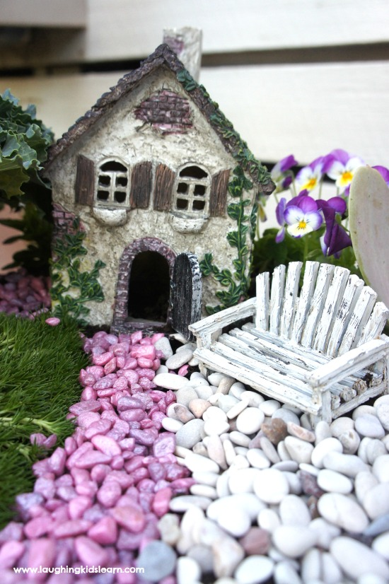 Fairy house and chair