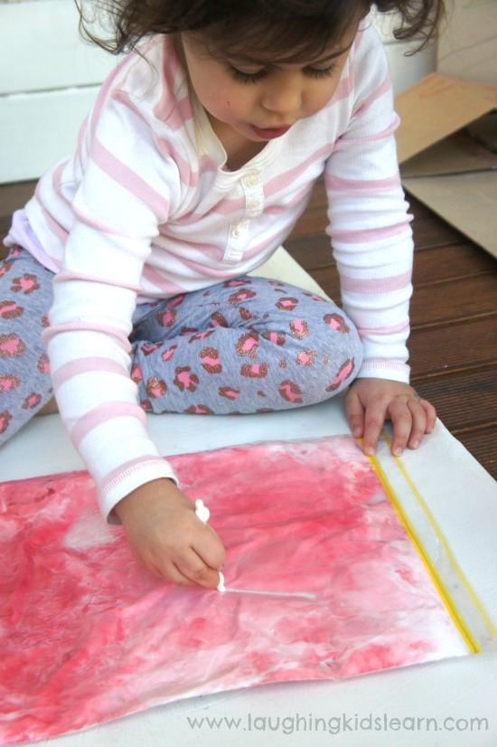 preschool writing activity