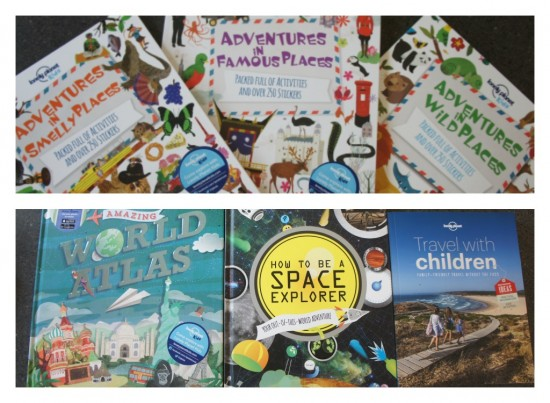 Loney Planet Kids collage