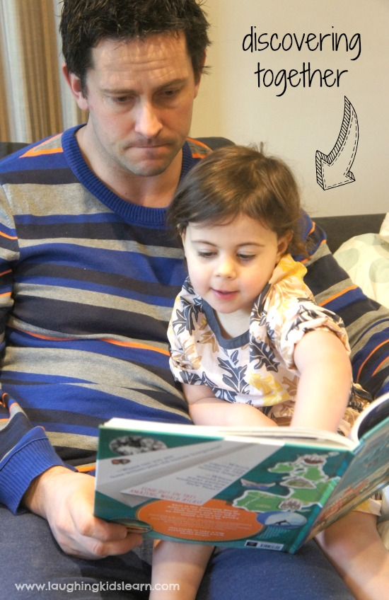Parenting reading together with child