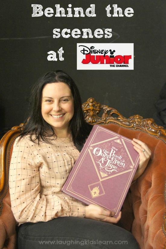 Behind the scenes at Disney Jr