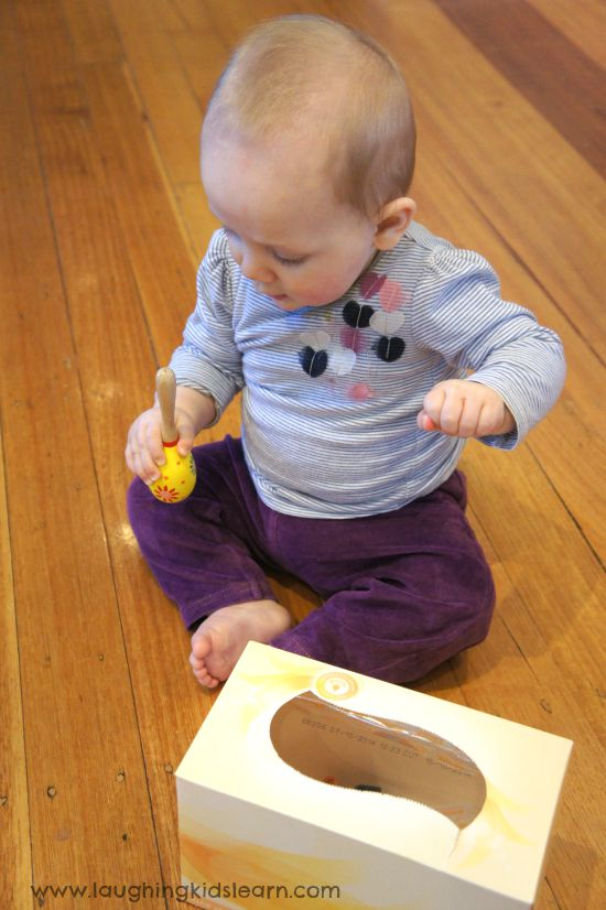 Discovering baby safe objects for baby play