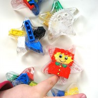 Ice blocks for sensory play