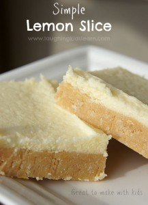 simple lemon slice kids can help make