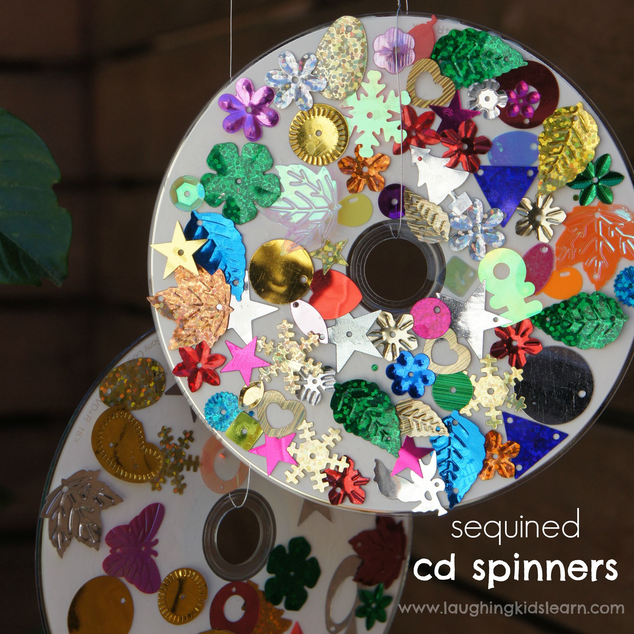 Facebook cd spinners