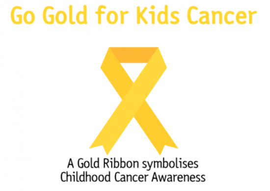Gold for Kids Cancer Awareness